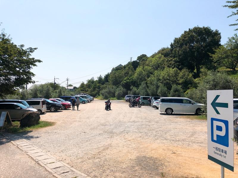 牛窓オリーブ園駐車場