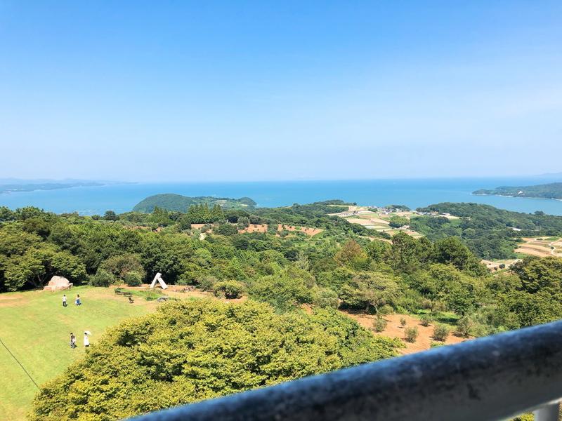 展望台最上部からの景色