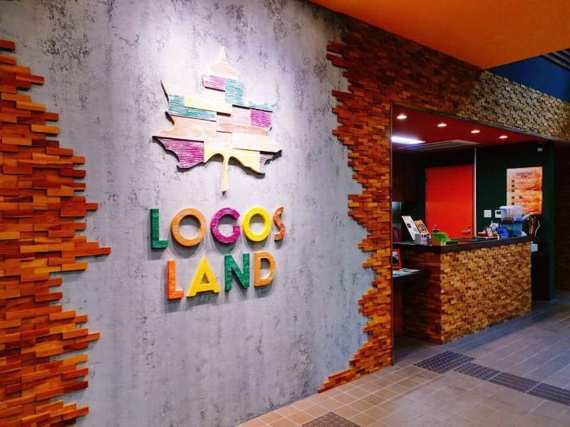 LOGOSLANDの受付